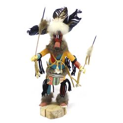 Navajo Warrior Kachina by M. Nelson