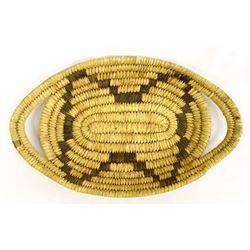 Vintage Native American Pima Basketry Tray