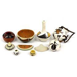 Native American Pueblo Pottery Miniatures