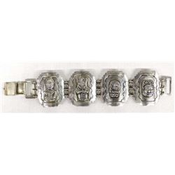 Mexican 980 Silver Bracelet