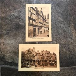 Early 1900's Sepia Postcards of Chester, Cheshire England