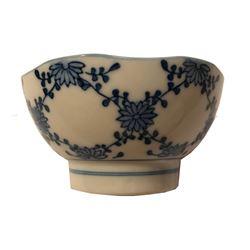 Vintage Signed Japanese Porcelain Rice Soup Bowl