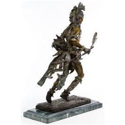 Indian Dancer By Frederic Remington
