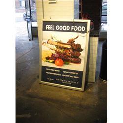 FEEL GOOD FOOD SIGN