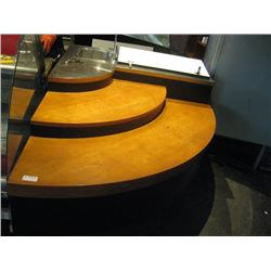CORNER COUNTER WITH SINK