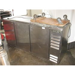 BEVERAGE AIR 3 DOOR BACK BAR/