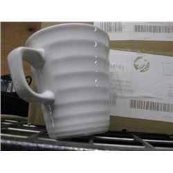 Latte Ripple Mug 16oz White (6/cs) - CHURCHILL