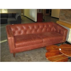 WOODWORTH WOVEN PADDED COUCH