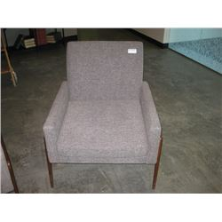 WOODWORTH WOVEN PADDED ARM CHAIR