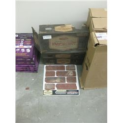 AMERICAN GENUINE CLAY THIN RED BRICK
