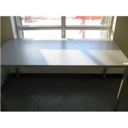 HERMAN MILLER 30 X 60 GREY TABLE