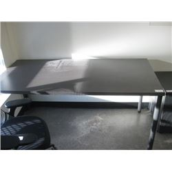 HERMAN MILLER 30 X 60 DARK TABLE
