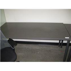 HERMAN MILLER 30 X 60 DARK TABLE