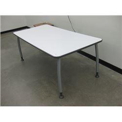 3 X 36 WHITE WORK TABLE