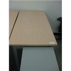 2 X 4 FT BLONDE TABLE