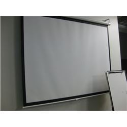 DA-LITE PROJECTION SCREEN