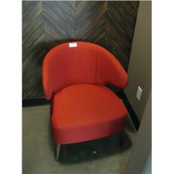 RED SIDE CHAIR