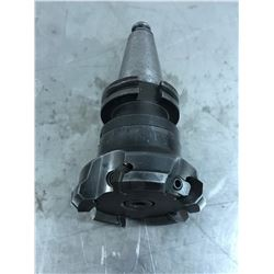 "CAT 40 Holder w/ __ "" (diameter) CARBOLOY INDEXABLE FACE MILL"