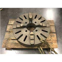 "24"" BISON 4 JAW LATHE CHUCK"