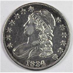 1834 BUST HALF DOLLAR
