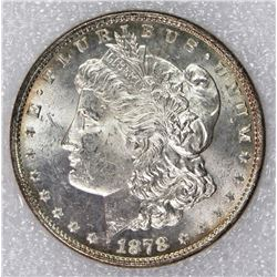 1878 8F MORGAN SILVER DOLLAR