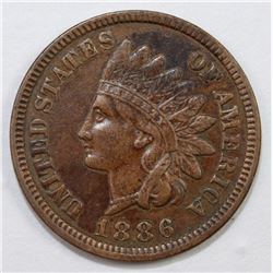 1886 TYPE 1 INDIAN CENT