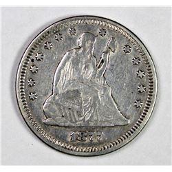 1877 SEATED QUARTER