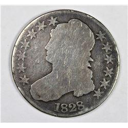 1828 BUST HALF DOLLAR