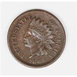 1864 BROWN INDIAN CENT