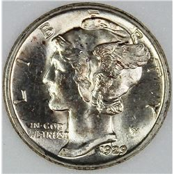 1929-D MERCURY DIME