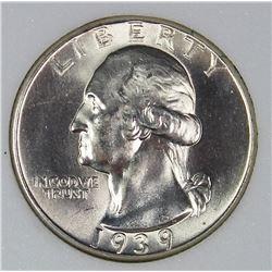 1939-D WASHINGTON QUARTER