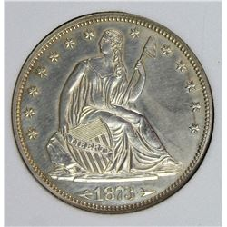 1873 ARROWS SEATED HALF DOLLAR