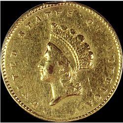 1855 TYPE 2 GOLD DOLLAR