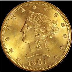 1901 $10.00 GOLD LIBERTY