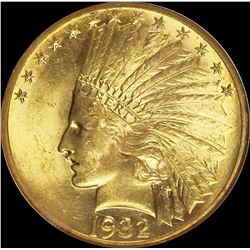 1932 $10.00 GOLD INDIAN