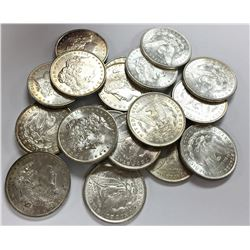ROLL OF 20 PCS. PRE-1921 MORGAN SILVER DOLLARS