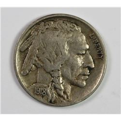 1918-D BUFFALO NICKEL