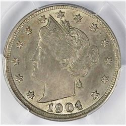 1904 LIBERTY NICKEL