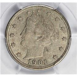 1901 LIBERTY NICKEL