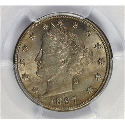 1897 LIBERTY NICKEL