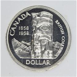1958 CANADA DOLLAR