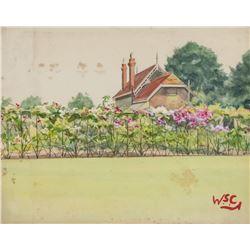 Winston Churchill British Impressionist WC Board