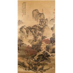 Gao Xiang 1688-1753 Chinese Watercolor on Paper