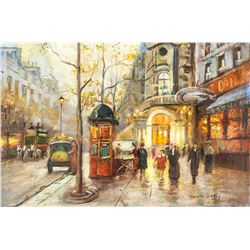 Edouard Cortes French Oil on Canvas LEFEVRE