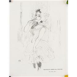 Henri Toulouse-Lautrec Lithograph on Paper