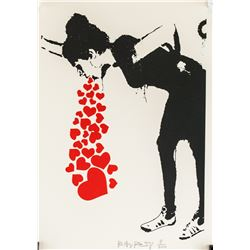 Banksy British Pop Signed Lithograph 8/300