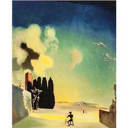 Salvador Dali Spanish Surrealist Signed Litho EA