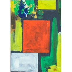 Hans Hofmann German-American Abstract Oil Canvas