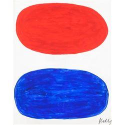Ellsworth Kelly American Modernist Oil on Canvas