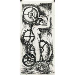 Max Ernst German Dadaist Surrealist Ink on Paper
